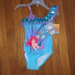 Little Mermaid Ariel swimsuit NWT size 4